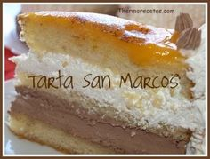 Tarta San Marcos My Recipes, Sweet Recipes, Cake Recipes, Dessert Recipes, Cooking Recipes, Desserts, Traditional Cakes, Different Cakes, Bread Machine Recipes