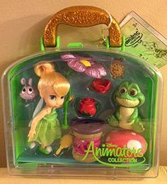 : Disney Animators' Collection Tinker Bell Mini Doll Play Set - - New by Disney. Disney Animators' Collection Tinker Bell Mini Doll Play Set - - New Best Christmas Toys, Christmas Items, Kids Christmas, Tinkerbell, Disney Fairies, Toddler Toys, Kids Toys, Doll Toys, Barbie Dolls