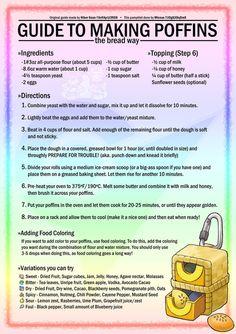 Pokemon - Poffin Making Guide by joodude on DeviantArt