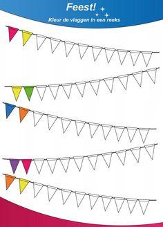Patronen kleuren groep 1