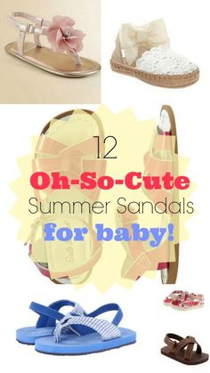 12 Oh-So-Cute Summer Sandals for Baby