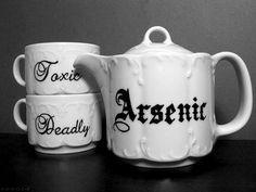 Arsenic Tea Set