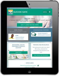 SAMHSA Suicide Safe Mobile App