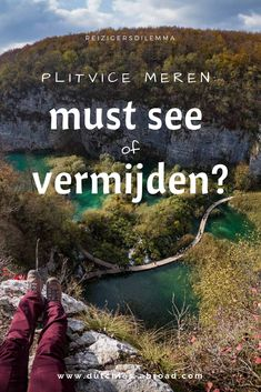 De Plitvice meren: must see of vermijden? Croatia Travel Guide, Europe Travel Tips, Places To Travel, Merida, Camper, Destinations, Ultimate Travel, Where To Go, Travel Inspiration