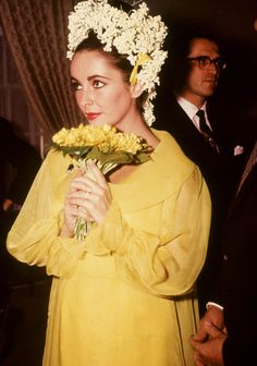 "maureensadoll: "" 1964, Elizabeth Taylor marries Richard Burton in Montreal, QC """