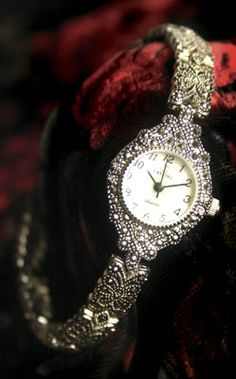 Maybe much for every day but a girl needs a special occasion timepiece. Otherwise, she runs the risk of turning into a pumpkin or worse, being late for a very important date.