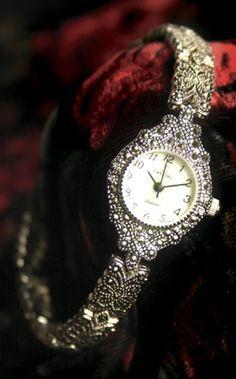 Marcasite Watch Bracelet
