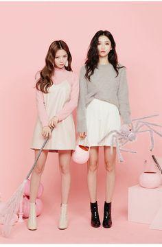 Kawaii Fashion, Cute Fashion, Look Fashion, Fashion Clothes, Girl Fashion, Fashion Outfits, Womens Fashion, Fashion Trends, Korean Fashion Styles