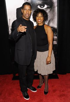 """Denzel Washington    One of Hollywood's longest-lasting relationships is between Denzel and Pauletta Washington, who have been married for 29 years. Denzel clearly takes his marriage seriously -- he recently said that marriage """"is a marathon, not a sprint."""""""