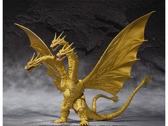 S.H. MonsterArts - King Ghidorah Special Color Version - Godzilla Figures