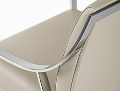 Close up of the Aileron Arm Chair by Christophe Pillet for Frag _