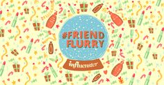 I'm an Influenster, are you? Sign up and you could earn some epic holiday rewards. #FriendFlurry