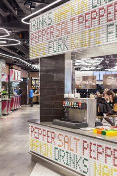 Design showcase: Schipol Airport's new street food-inspired food court - Retail Design World