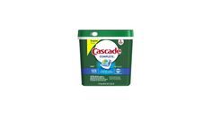 78 count Cascade Complete ActionPacs Dishwasher Detergent Fresh Scent for $16.12 at Amazon