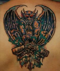 Gargoyle Tattoos Pictures And Images Page 29 picture