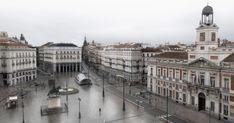 Nunca has visto Madrid tan vacío como en estas fotos