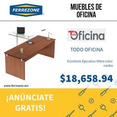#MueblesParaOficina #EscritorioEjecutivo http://www.ferrezone.mx  El mercado ferretero de México Anúnciate gratis