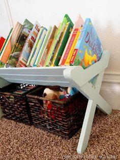Children's Book Caddy {The Sawdust Maker}