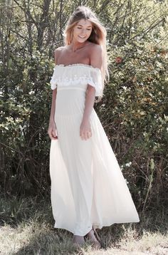 100 White Dresses to Wear to Every Wedding Event via Brit + Co