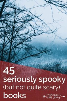 """45 seriously spooky (but not quite scary) books for your October reading list. I don't mind scary books, but these """"creepy"""" ones look good, too! I Love Books, Great Books, Books To Read, My Books, Music Books, Reading Lists, Book Lists, The Graveyard Book, The Book Thief"""