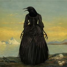 """Goth in all the right places. """"The Mother of Crows"""" by Bill Mayer."""