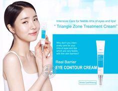 Atopalm Real Barrier Triangle Zone Eye Contour Cream Intensive Wrinkle Care 30ml #Atopalm Korean Facial, Korean Skincare, Korean Makeup, Facial Cream, Eye Contour, K Beauty, Lip Tint, Skin Makeup, Whitening
