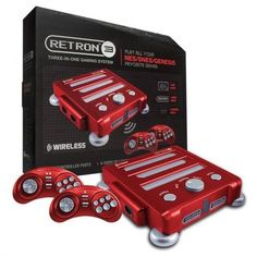 Retron 3 3in1 Super Nintendo NES SNES Sega Genesis Game Console  *That's Pretty Sweet*  Vintage Console Game Player
