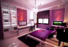 awesome rooms for teenagers | Cool Teen Room Design Furnitures Ideas teen room ideas-1 –