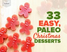 Five Approaches To Economize Transforming Your Kitchen Area 33 Easy, Paleo Christmas Desserts Christmas Desserts, Holiday Treats, Holiday Recipes, Christmas Treats, Christmas Recipes, Christmas Goodies, Christmas Stuff, Diy Christmas, Paleo Sweets