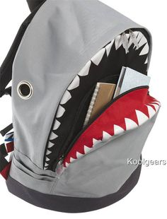 Shark Backpack Diy Storage Totes 7807ca287f600