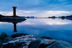 Lighthouse on Blue by Roy Cruz on 500px