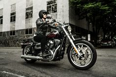 In the '70s, H-D invented the ride-it-hard, put-it-away-dirty custom motorcycle with the Low Rider. Now it's back. If you're gonna go, go low. | 2015 Harley-Davidson Low Rider