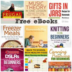 FREE eBOOKS: Music Theory in One Lesson, Back To School With Healthy Food, + More!