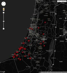 Gaza-Israel crisis 2012: every verified incident mapped