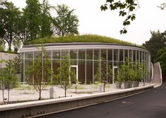 Brooklyn Botanic Garden is one of The Coolest Buildings of 2014 via Real Life Salvation