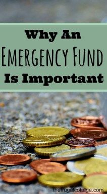 If you add one extra thing to your finances, it needs to be an emergency fund! Having one is so important. #money #finances #emergencyfund