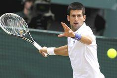 Djokovic created history, World Novak Djokovic defeated Switzerlands World No. 2 Roger Federer by in the Cincinnati Open mens singles category final on Sunday. Roger Federer, Tennis Players, Tennis Racket, Sports News, Cincinnati, Cardio, Athlete, Exercise, Workout