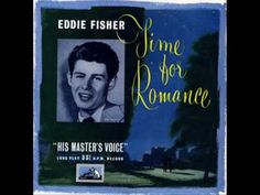 If you lived in the 50s you know Eddie Fisher was really huge - he wasn't just a hubbie to Debbie Reynolds and Elizabeth Taylor - he was a big recording/entertaining star - from 1956 here's one of his hits 'Cindy Oh Cindy'