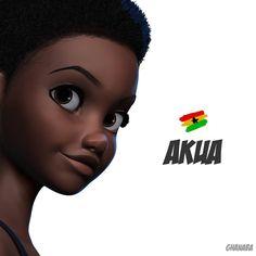 "5,392 curtidas, 57 comentários - Nils Britwum (@nilsbritwum) no Instagram: ""It's been a while... ❤️ #art #illustration #girl #love #creo"" Black Love Art, Black Girl Art, Art Girl, Female Portrait, Female Art, Ghanaian Names, Natural Hair Art, Big Hair Dont Care, African Artists"