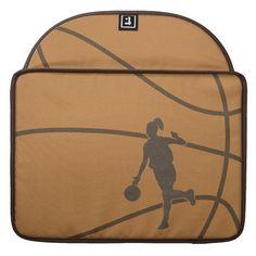 Girl Basketball Sleeve For MacBook Pro Laptop  #MacBook+Pro #mac #pro #sleeve #sleeves #laptop #sleeve+for+macbook+pro #basketball #girl