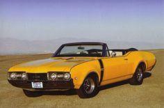 1968 Oldsmobile 442  Convertible - Oldsmobile Wallpaper ID 245942 - Desktop Nexus Cars
