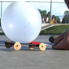 Balloon Powered Car - The Lab