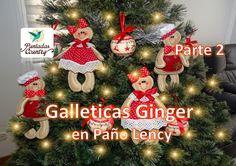 Parte 2 Galleticas Ginger en Paño Lency