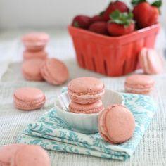 Tartelette: A Bouquet of Raspberry Mascarpone Macarons