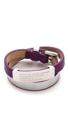 Marc by Marc Jacobs Standard Supply Double Wrap Bracelet | ,shopBop 68.62$