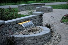Transitional Patio in Valley City - landscape lighting, heat lamps   by Valley City Supply