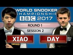 Ryan Day v Xiao Guodong 肖国栋 ᴴᴰ World Snooker Championship 2017 Session 2 - YouTube