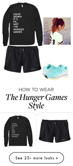 """P.E outfit"" by bellaboo246 on Polyvore featuring mode, Patagonia et NIKE"