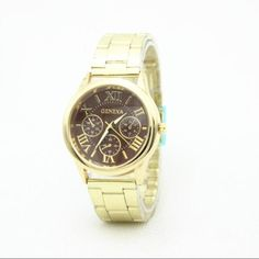 Classic Simple Alloy Strap Watch