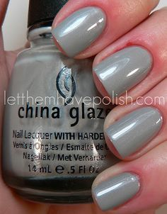 China Glaze Pelican Gray (letthemhavepolish.com)